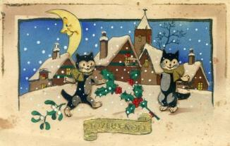 Christmas card from France 1940