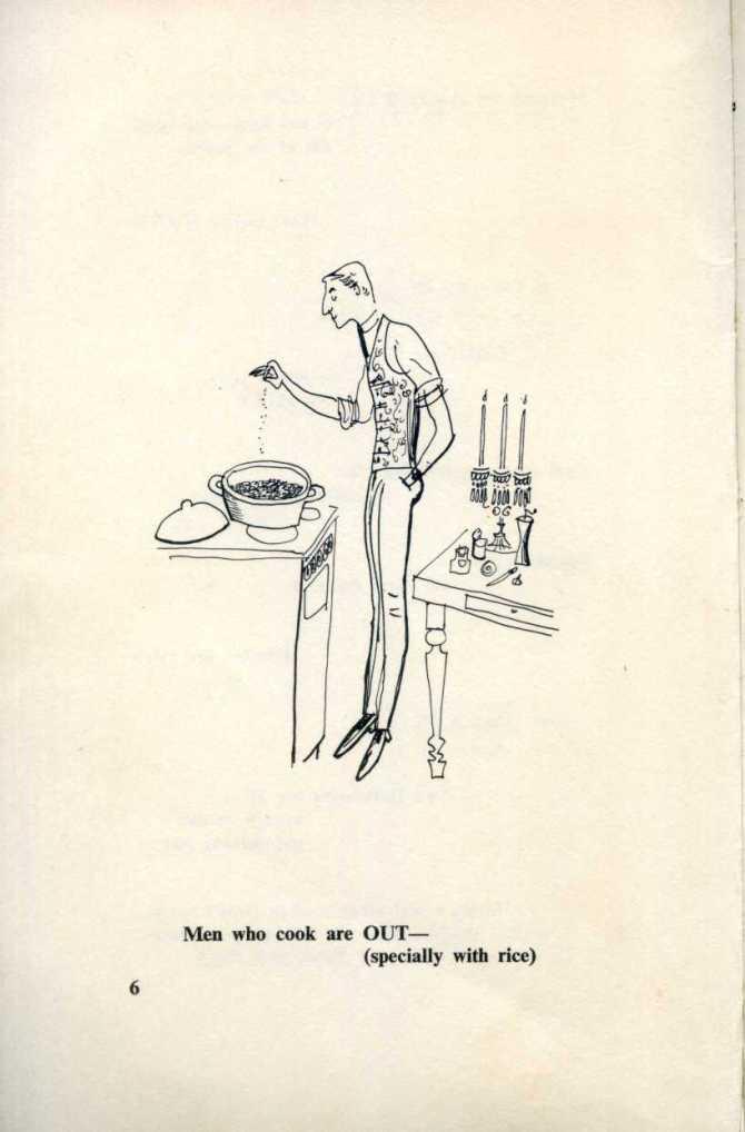 Men who cook.