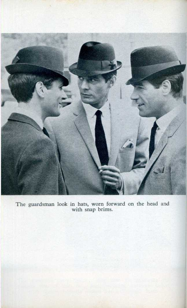 Men with hats.