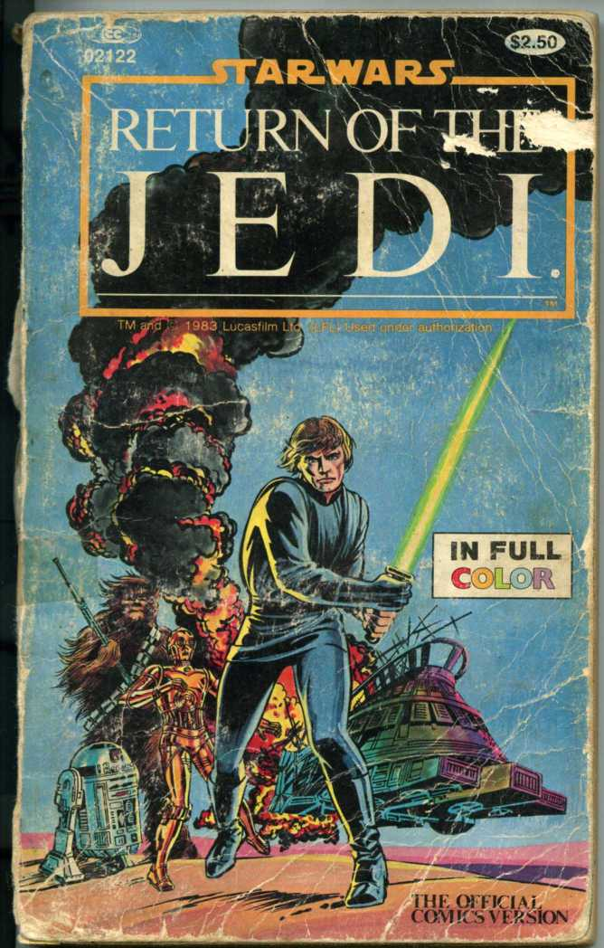 Return of the Jedi, comic version.